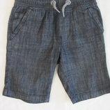 Шорты джинсовые мальчику Next 5 лет, будут дольше