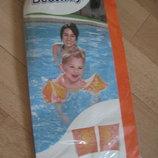 о Нарукавники надувные для плавания Bestway 3-6 лет , 23х15 см, новые