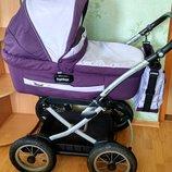 Коляска Peg Perego Culla Auto в отличном состоянии для новорожденных