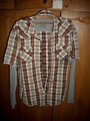 Рубашка C&A , 44 размер, India