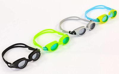 Очки для плавания Zelart 1019 поликарбонат, силикон