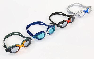 Очки для плавания Zelart 1143 поликарбонат, силикон