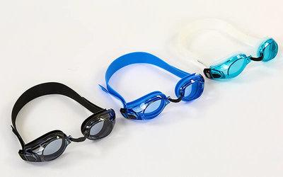 Очки для плавания Zelart 1233 поликарбонат, силикон
