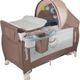 Манеж - кровать Lionelo Sven Plus с полозьями и пеленатором