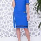 Летнее платье 56-58 размера
