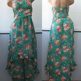 Платье бандо, юбка шлейф, хвост. Rare London