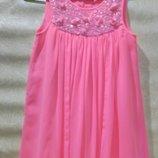 Нарядное платье на 8-9 лет.