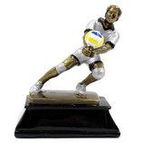 Награда спортивная волейбол 3683-A11 статуэтка наградная волейболист 16х13х7см