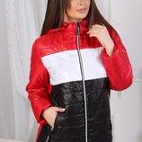 Женская куртка Nancy демисезонная 3 цвета