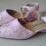 Туфельки розовые р.29