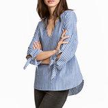 Блузка в полоску H&M L.O.G.G. XS полоска