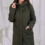 Милое пальто кашемир на подкладке скл.1 арт.37859