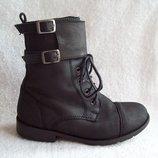 Ботинки берцы деми кожа Next, стелька 20 см.