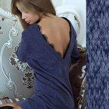 Платье-Туника с открытой спиной Ангелина 5 Цветов