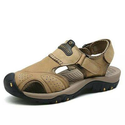 Новые кожаные Мужские сандалии , на ногу 25- 26 см.