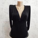 блузка-боди атласная стильная модная р10