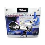 Детский набор телескоп и микроскоп 2в1 C2111