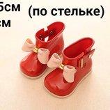 Детские Резиновые сапожки 12-12,5 см без утеплителя