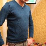 Мужской вязаный свитер р.48