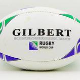 Мяч для регби кожаный Gilbert RBL-1 размер 5
