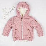 Куртка тёплая на утеплителе Micro-loft с 80 по 134 рост