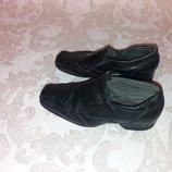 Кожаные туфли на мальчика стелька 20 см 31-32 размер