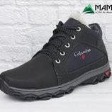 Мужские ботинки на хутре, черевики, кроссовки К-19