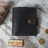 Портмоне кошелек из винтажной кожи Британский фунт 100% handmade