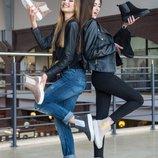 Распродажа Натуральные зимние/демисезонные женские челси / ботинки Женская обувь 2018 36,37,38,39,40