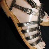 37 разм. Les Tropeziennes. Кожа, Фирменные сандалии. Кожа Длина по внутренней стельке от шва и до шв