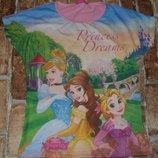 футболка Принцессы 9-10лет Дисней большой выбор одежды 1-16лет