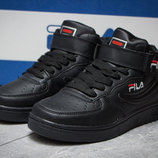 ботинки Fila 34,35,36,37,38,39 размер подросток унисекс кроссовки хайтопы осень