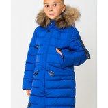 Зимнее теплое пальто пуховик на мальчика Гриша размеры 122-164