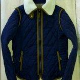 Женская утепленная куртка Zara,размер М.