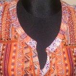 оранжева легка сукня р44 George