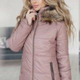 Женская куртка зима 6 цветов 149 маж