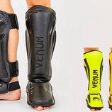 Защита для голени и стопы муай тай/ММА/кикбоксинг Vemun 7042 PU, размер M-L