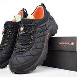 Ботинки мужские Merrell Iceberg Moc black/orange