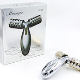 Массажер ручной роликовый Massager XC-208 пластик, 2 массажных шарика