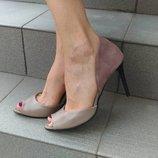 Туфли на шпильке из натуральной кожи Производитель Украина