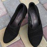 Замшевые туфли фирмы footglove