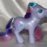шикарная коллекционно-игровая фигурка пони My Little Pony Hasbro Сша оригинал клеймо
