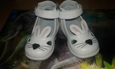 Туфли для девочки зайчики размер 19 41184a8a45887