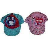 Прикольные кепки для девочек из Англии от 7 до 13 лет. Распродажа