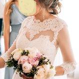 Свадебное платье плаття сукня 6-8-10 р хс-с на худенькую подарки