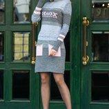 Теплое платье 44-46-48-50 размеры , разные цвета