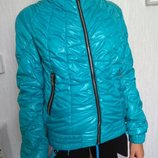 Бирюзовая курточка на 42-44р