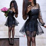 Красивое нарядное платье 6053