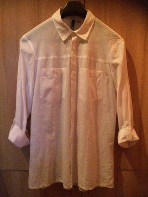 Рубашка H&M, 100% коттон