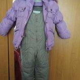 Зимний комбинезон на девочку 98-104